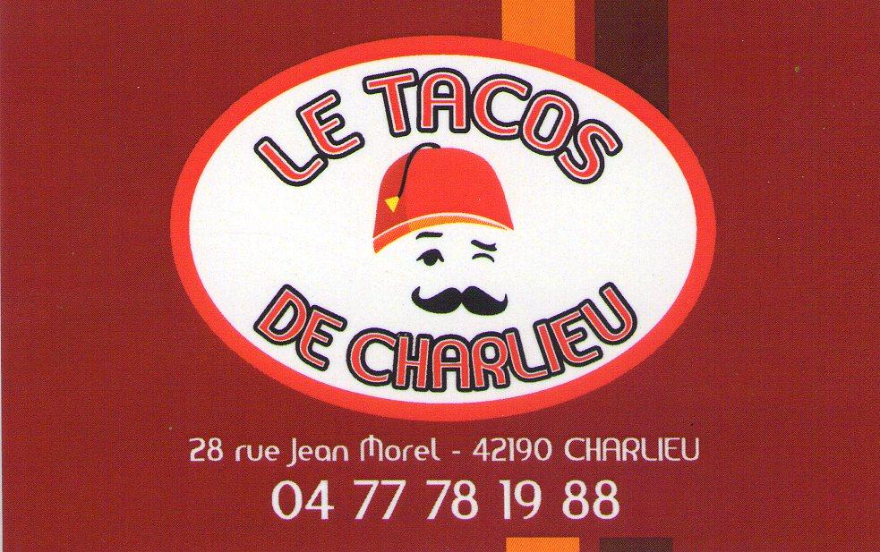 Carte tacos de Charlieu