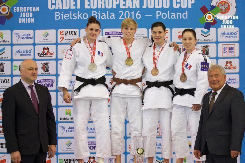 Mélanie DHAIBY médaillée d'argent de la EUROPEAN CUP en Pologne 2016