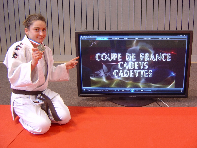Nouvel exploit : Justine remporte encore la Coupe de France en 2011 !