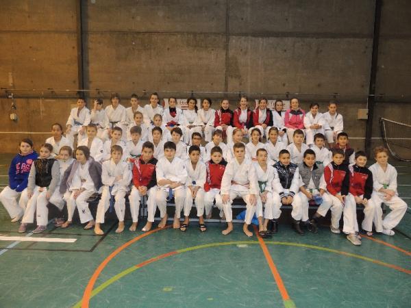Les équipes benjamins-minimes AJ Loire 2013-2014